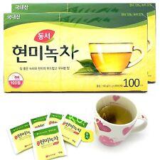 Korean DONGSUH Brown Rice Green Tea 200 Tea bags (100T x 2 Box)