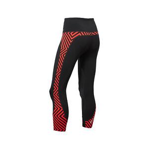 2XU Fitness Hi-Rise Compression 7/8 Tights Women's Small Black/Red Print WA4749b