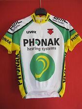 maglia da ciclismo Phonak 2003 BMC Swiss Cicli UVEX Maglia da ciclismo - S