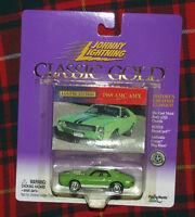 1969 AMC AMX Johnny Lightning Classic Gold  Series 404-07