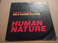 "GARY CLAIL ON U SOUND SYSTEM "" HUMAN NATURE "" 7"" SINGLE EX/VG 1991"