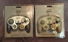 Set Of (2) *NEW* Yobo Advanced Game Controllers For Gamecube White & Silver