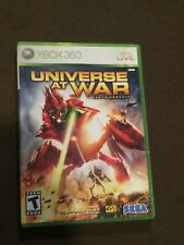 Microsoft XBox 360 Video Game Universe at War SEGA Rated T NICE