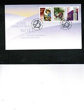 Canada 2002 Christmas Combo Fdc 3 Stamps #1965-67 Cat $6.00 Box 522