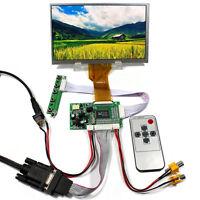 "VGA 2AV LCD Controller Board With 7"" 800x480 AT070TN93 EJ070NA 03A LCD Screen"