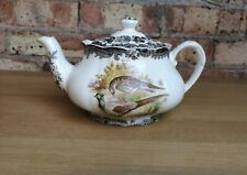 Royal Worcester Spode Ceramic Palissy Game Series Tea Coffee Teapot