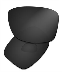 Black Polarized Replacement Lenses for Oakley Jupiter Squared OO9135 Sunglasses