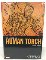 Timely's Greatest The Golden Age Human Torch Omnibus Marvel HC New Sealed $150