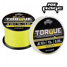 Tresse Fox Rage Torque 0.10mm 4.550kg 150m