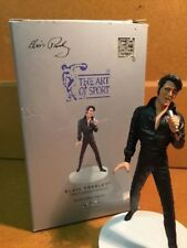 Elvis Presley figurine 25th Anniv. statue black leather Comeback Special figure