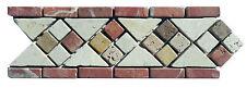 Rosone rosoni mosaici in marmo  greca ART 115 IN MARMO CM 30X10