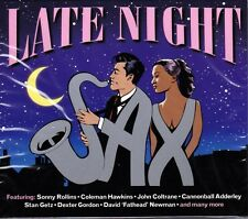 LATE NIGHT SAX - VARIOUS JAZZ ARTISTS (NEW SEALED 2CD)