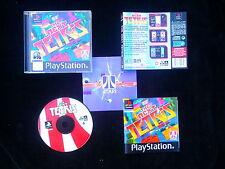 JEU Sony PlayStation PS1 PS2 : THE NEXT TETRIS (SLES-01987 COMPLET envoi suivi)