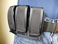 Glock 17, 19, 22, 23, 31, 33, 38 Single or Double Stacked   Triple Mag Pouch