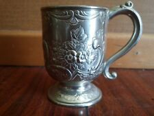 Vintage CORBELL & CO SILVER PLATED REPOSE CUP ENGLAND C & CO. art deco