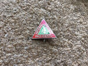 National Cycling Proficiency Test Enamel Pin Badge Bicycles 1960/70s