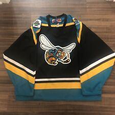 SP Rio Grande Valley Killer Bees CHL Hockey Jersey Vintage Black 2006 Allstar XL