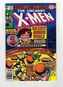 UNCANNY X-MEN #123 - SPIDER-MAN CROSSOVER - BEAUTIFUL COPY! - NM/NM+