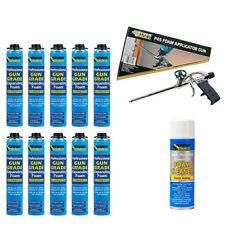 Everbuild Expanding Foam Kit Polyurethane Professional Gun Grade Foam Cleaner