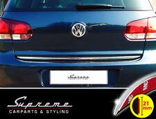 VW Golf 6 VI Typ 1K 3 und 5 Türer Chrom Zierleiste 3M Tuning Heckleiste