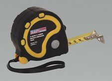 Sealey AK990 Rubber Measuring Tape 7.5M 25Ft X25mm Metric Imperial Workshop