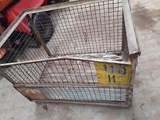 1 x DB Gitterbox Gebraucht Tauschfähig Lagerbox Box Stabelbox
