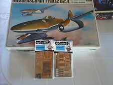 MESSERSCHMITT ME262/A 1/32 HASEGAWA MODEL+N.2 PHOTOETCHED PARTS EDUARD ACCESSORI