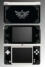 Legend of Zelda Grey Black Special Edition Game Decal Skin Cover Nintendo DSi XL