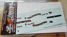 Slixx Rambunctious Charger 1/25Th Scale Decals | Free Domestic Shipping