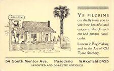 PC Ye Pilgrim Cottage Modern & Antique Handcrafts Pasadena, California~114569