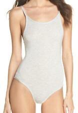 New with Tag - Skarlett Blue Undressed Silver Modal/Spandex Tank Bodysuit Size L