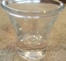 Glass Communion Cup With Beveled Lip