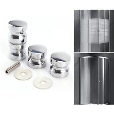 2 set Pomo Aluminio para Puerta de vidrio Tirador para Puerta de Ducha