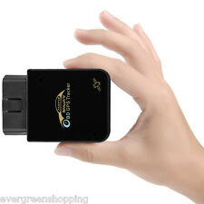 OBD II GPS LBS TRACKER Realtime Car Truck Vehicle Engine GSM GPRS Fr IOS Android