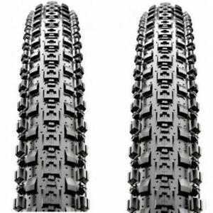 """1 Pair Maxxis Crossmark MTB BicycleTyres 26/27.5/29 """" Black Mountain Bike Tire"""