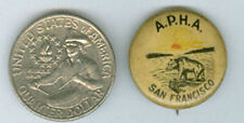 SAN FRANCISCO CA  A. P. H. A. OLD PIN BACK BUTTON ***NOW ON SALE**  AD346
