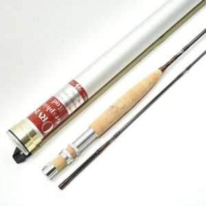 """Orvis Graphite """"Trout"""" Fly Fishing Rod. 7 1/2' 6wt. W/ Tube And Sock."""