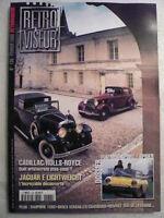 RETROVISEUR n° 138 Dossier FIAT 850 SPORT / SPIDER. CADILLAC / ROLLS ROYCE
