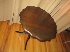"""Rare Oak Tilt Up Tea Table 21"""" wide and 27"""" high in great shape"""