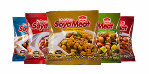 Spicy Soya Meat with rice meals sea foods chicken Devil vege flavor hot SL 90g