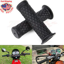 "Motorcycle 7/8"" Hand Grips Handle Bar Rubber Gel For Yamaha R1 R6 Honda CBR600RR"