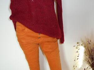 **LEXXURY**Baggy Jeans  Conjak Gr. 34 - 42 NEU! Herbst / Winter!!