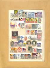 [OP4135] Worldwide lot of stamps on 12 pages