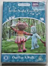BBC DVD...IN THE NIGHT GARDEN..OUT FOR A WALK! BRAND NEW AND SEALED REGION 4 DVD