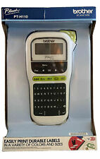 Brand New Brother P Touch Pt H110 Portable Label Maker Printer Tape Scrapbook