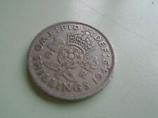 1949 Two Shillings Coin.