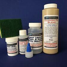 Colorworks Pro Leather / Vinyl Repair Kit - VW Beige