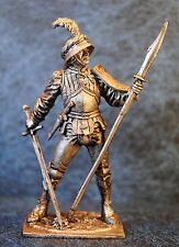 Tin Soldiers * Middle Ages * Swiss foot soldier, 15th century * 60 mm