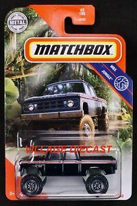 2020 Matchbox #65 1968 Dodge D200 BLACK / MOC