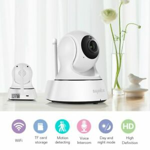 SANNCE Security IP Camera Wireless Wifi 720P Night Vision CCTV Baby Monitor